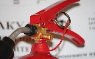 Назначение и область применения водопенного огнетушителя