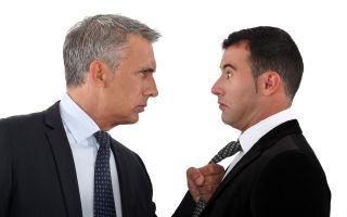 Как построить деловые отношения с начальником-скандалистом?