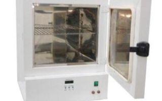 Инструкция по обслуживанию сушильных и стерилизационных шкафов