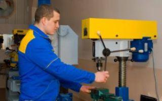 Инструкция при работе на сверлильных станках