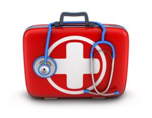 Медицинский осмотр при несчастном случае